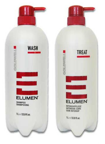 Goldwell Elumen Wash and Treat Duo, 33.8 oz.