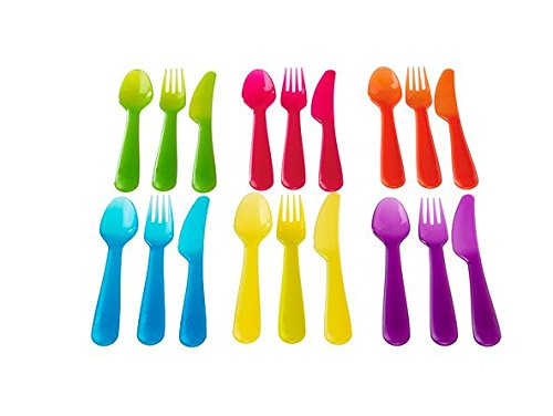 Ikea 36-piece Dinnerware Set, Assorted Colors by Ikea (Image #2)