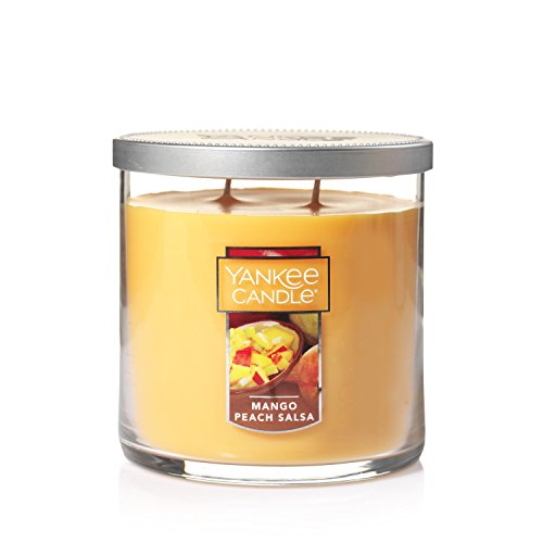 (Yankee Candle Medium 2-Wick Tumbler Candle, Mango Peach Salsa)