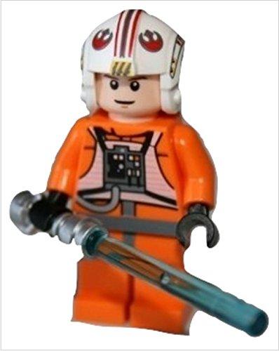 LEGO Star Wars X-Wing Starfighter Minifigure - Luke Skywalker X-Wing Pilot with (Lego Luke Skywalker)
