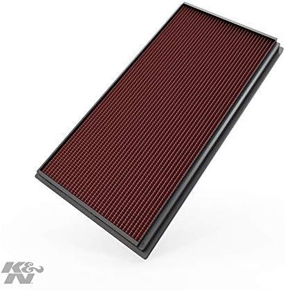K&N 33-2128 Filtro de Aire Coche, Lavable y Reutilizable: Amazon ...