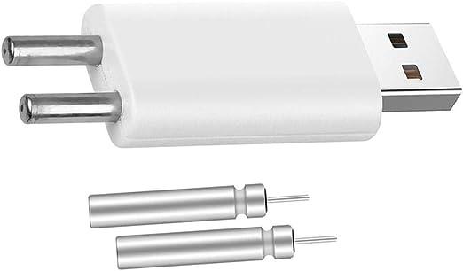 Rechargeable CR425 Battery Fishing Float Battery Night Luminous USB Converter