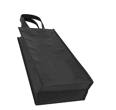Elife Reusable Gift Bag, 1 or 2 Bottle Wine Tote Holder Vineyard, 10 or 5 Pack Set