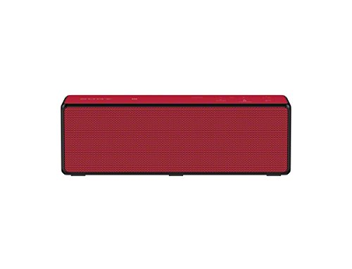 Sony SRSX33 Powerful Portable Bluetooth Speaker (Red)