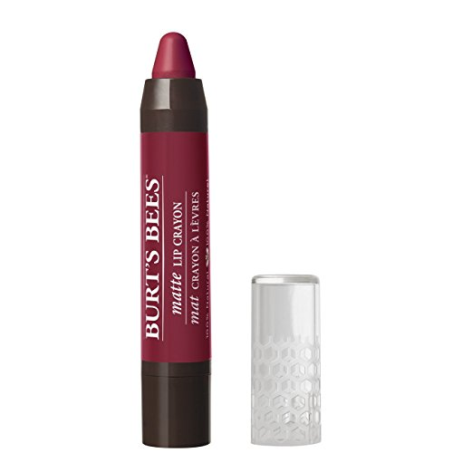 Matte Balm Lip Moisturizing (Burt's Bees 100% Natural Moisturizing Matte Lip Crayon, Napa Vineyard - 1 Crayon)