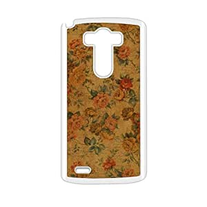 glam flowers personalized high quality cell phone case for LG G3