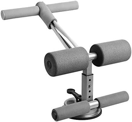 XIONGGG Tragbare Sit-Ups Assistant Gerät Self-Priming Situp Bar Mit Zugseil Für Push Ups Muskeltraining Körper Stretching,Grau