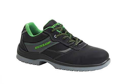 Dunlop DL020100 Herren Sicherheitsschuhe Schwarz/Grün