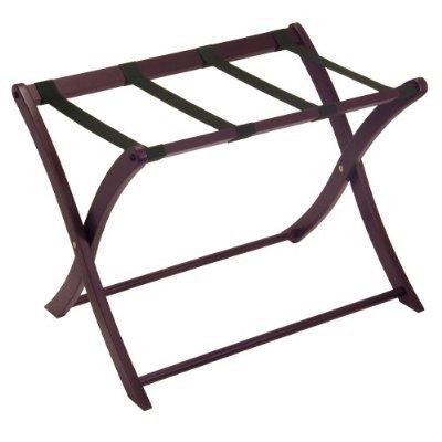 Winsome Walnut Finish Luggage Rack (Rack Finish Luggage Walnut)