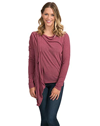Maya Nursing Wrap | Open Front Wrap Cardigan for Women