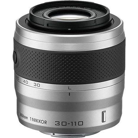 Nikon 1 NIKKOR 30 - 110 mm f/3.8 - 5.6 VR (Plata): Amazon.es ...