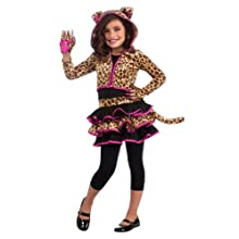 Rubie's Drama Queens Leopard Hoodie Costume, Medium