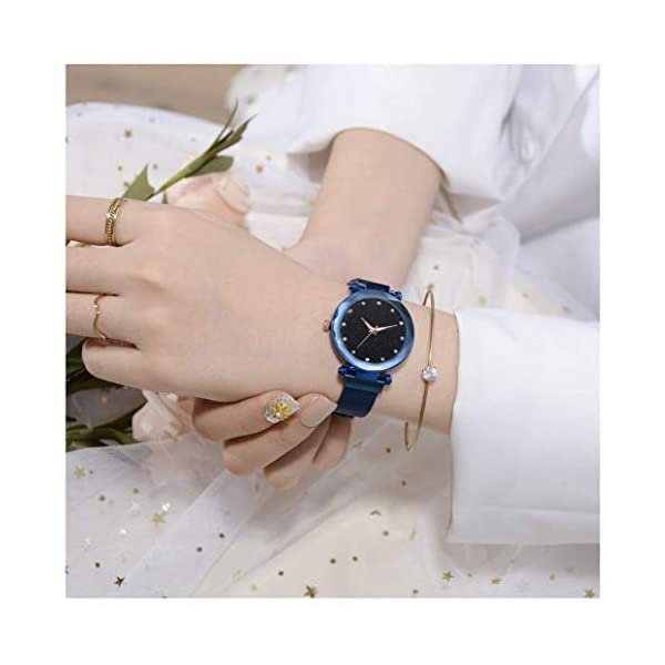 Shocknshop Analogue Round Blue Dial Men's & Women's Couple Watch Combo -(W236-260BL)