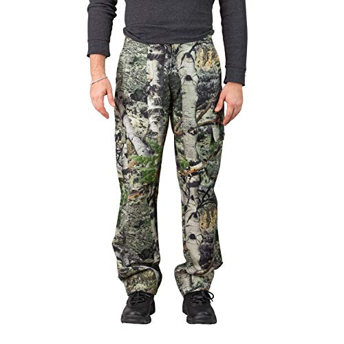 - TrailCrest Men's Camo Hunting Cargo Pants | 6 Pockets | Mossy Oak Mountain Country