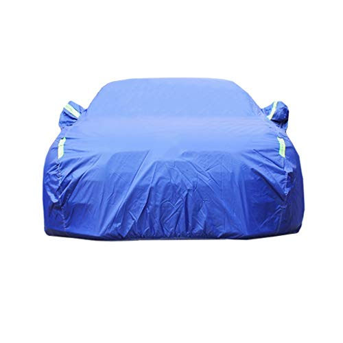 UKB4C Small Car Cover Waterproof Breathable Windproof//Dustproof//Scratch Resistant Outdoor UV Protection Full Car Covers Anti Freeze Car Covers