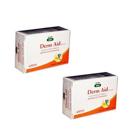 3 x Sunny Herbal Derm Aid Soaps 75 gms each
