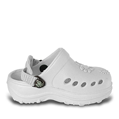 Dawgs Toddlers' Baby Dawgs Clogs White Size 8 - Image 1