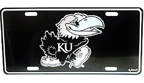 Kansas Jayhawks Elite License Plate