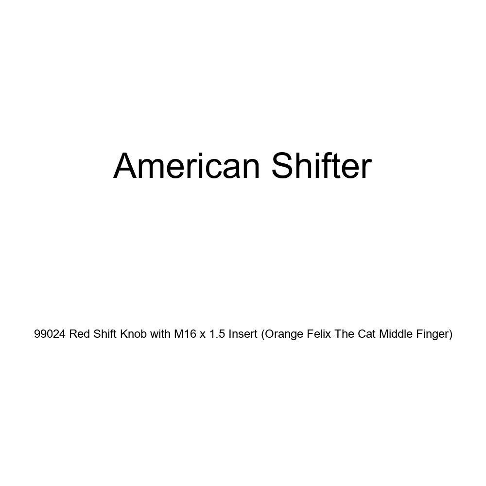 American Shifter 125177 Green Stripe Shift Knob with M16 x 1.5 Insert Yellow Star Target