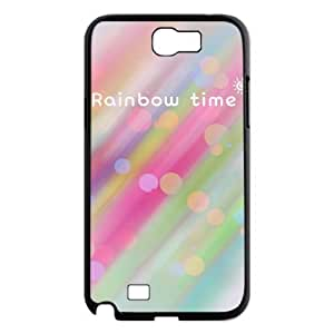 Rainbow Weather DIY Cover Case for Samsung Galaxy Note 2 N7100, DIY Rainbow Weather Cell Phone Case
