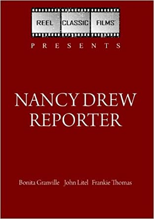 Amazon Com Nancy Drew Reporter 1939 Bonita Granville