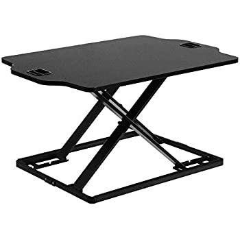 Amazon Com Songmics Standing Desk Height Adjustable Sit