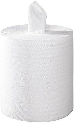 2/x 18/G//m2 /2/capas 20/x 25/cm/ /caja de 6/rollos/ color blanco/ /h261gsm /450/cuadrados Toallas de papel en relieve Central para relajarse/