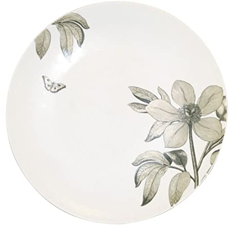 Churchill China Sanderson Etchings de flores, fuente redonda, en ...