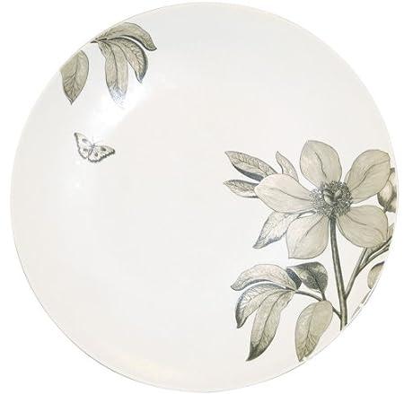 Churchill China Sanderson Etchings de flores, fuente redonda, en ...