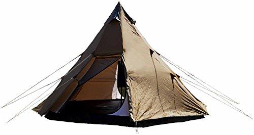 おとなしい汚染バナナカナディアンイースト(Canadian East) アウトドア キャンプ ワンポールテント BIG420 [4~6名用] 軽量 組み立て簡単 UVカット CETN2001