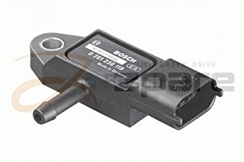 Sensor de presión de sobrealimentación Clio III (BR0/1, CR0/1) 1.5 dCi/Clio III (BR0/1, CR0/1) 1.5 dCi: Amazon.es: Coche y moto