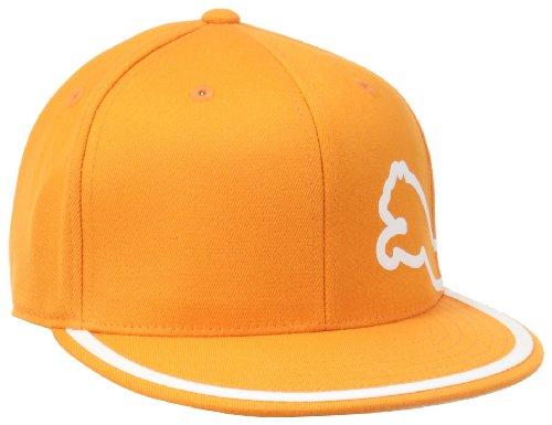 PUMA Men's Monoline 210 Flexfit Cap, Orange, Small/Medium ()
