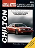 Chilton Deville / Fleetwood / Eldorado / Seville 1990-1998 Repair Manual (28540)