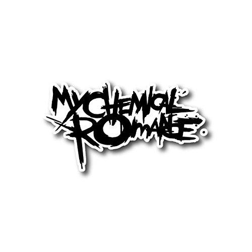 Romance Computer - My Chemical Romance Sticker Rock Band Decal for Car Window, Bumper, Laptop, Skateboard, Wall, ETC. (3