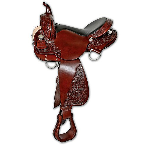 Circle Y High Horse Round Rock Gaited Saddle 17in