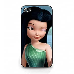 Artistic Pattern Tinker Bell Phone Case Cover For Iphone 4/4S Tinker Bell Fashionable