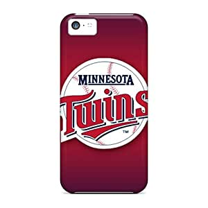 Iphone 5c QiA11503GmtF Customized Attractive Minnesota Twins Series Bumper Cell-phone Hard Cover -DannyLCHEUNG