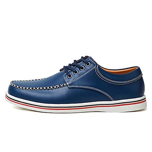 amp;Baby EU Blu Comodo Sunny Oxford Business 46 moda scarpe Men's Casual Resistente Dimensione Color semplice britannica morbido formali all'abrasione Nero dgqRwAq