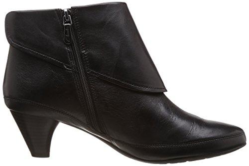 Noir black Boots Leather Denny Clarks Femme Lucilla EqwROZIXI