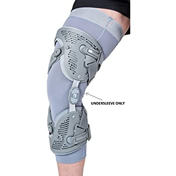 Ossur Unloader One Knee Brace Undersleeve (Gray, X-Large)