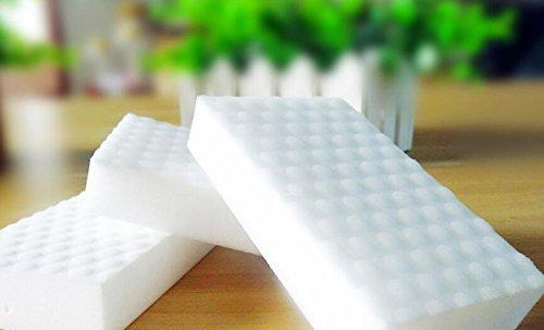 qilene 2komprimiert Nano Schwamm Magic Rub Reinigung Geschirrspülen Schwamm für Küche (weiß)