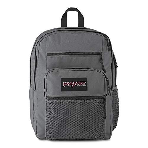 Jansport Big Campus Backpack – Lightweight 15″ Laptop Bag | Deep Grey