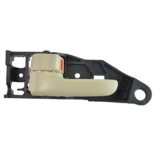 Interior Inside Door Handle LH Driver Side Ivory Finish for Toyota Solara