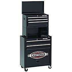Craftsman 5 Drawer Homeowner Tool Center Chest Cabinet with Riser