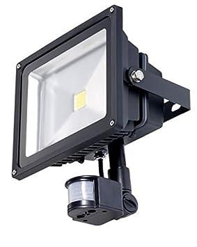 Yatek Foco Proyector LED Epistar PIR con Sensor de Movimiento 20W 220v