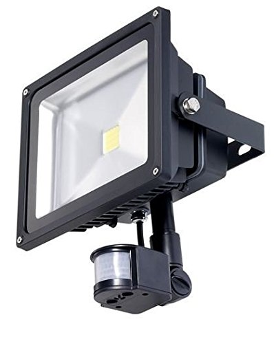 YATEK Foco Proyector LED Epistar PIR con Sensor de Movimiento 20W ...
