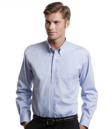 Kustom Kit -  Camicia classiche  - Uomo Multicolore blu