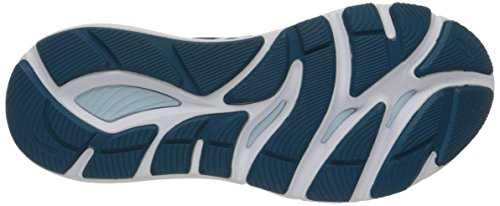 Asics Womens 33-m Scarpa Da Corsa Mosaico Blu / Blu Latte / Bianco