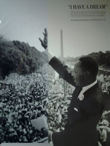 King, I have a Dream Poster Martin Luther King Jr