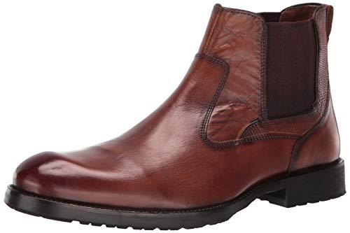 (Kenneth Cole REACTION Men's Brewster Boot Chelsea, Cognac 10.5 M US)